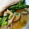 Cod in Green Tea Broth with Quinoa