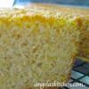 Blender Corn Bread, Gluten Free Dairy Free (GFCF)