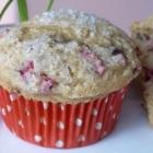 Gluten Free Dairy Free Cranberry Vanilla Muffins