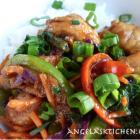Secret Recipe Club - Mongolian Chicken and Veggies