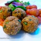 Gluten Free Dairy Free Turkey Spinach Meatballs
