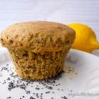 Lemon OR Almond Poppy Seed Muffins, Gluten & Dairy Free - WonderMill Challenge