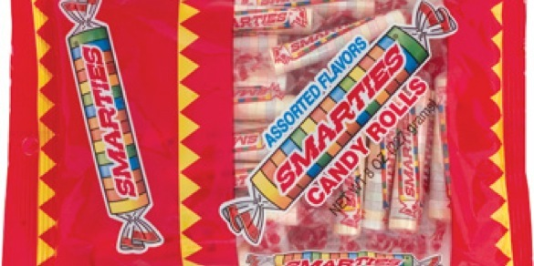 GFCF Halloween candy Smarties Gluten