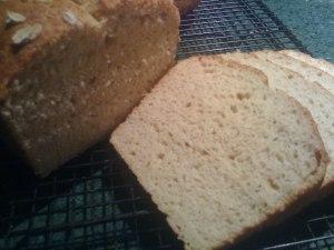 Gluten Free Dairy Free Honey Oat Millet Bread