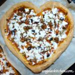 Gluten Free Dairy Free Valentine Pizza 2