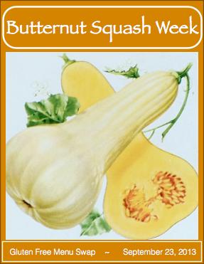 Gluten Free Menu Swap-Butternut Squash