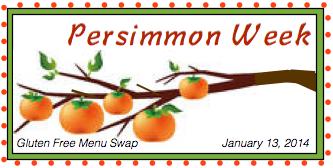 Gluten Free Menu Swap-Persimmon