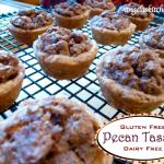 Gluten Free Dairy Free Pecan Tassies