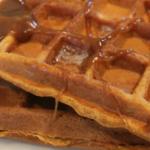 gluten free dairy free gingerbread waffles