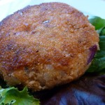 Gluten Free Dairy Free Salmon & Sweet Potato Cakes
