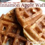 Gluten Free Dairy Free Cinnamon Apple Waffles