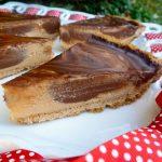 Gluten Free Dairy Free chocolate peanut Butter refrigerator pie