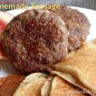 Homemade Sausage, Gluten & Dairy Free with OAMC Instructions