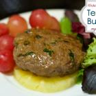 Teriyaki Burgers with freezer instructions (GFCF)