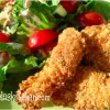 Citrus-kissed Chicken Fingers, Gluten Free Dairy Free