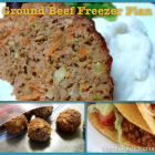 Ground Beef Freezer Plan