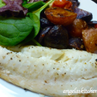 Roasted Fish with Potatoes, Tomatoes and Olives