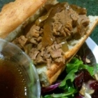 Blast from the Past - French Dip in the Slow Cooker