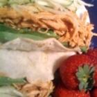 Slow Cooker Moo Shu Chicken & Moo Shu Wrappers