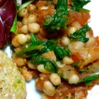 White Bean Spinach Ragout