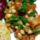 White Bean Spinach Ragout