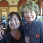 I had breakfast with Carol Fenster! (insert squeal here - Woo!)