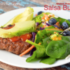 Gluten Free-zer Friday - Salsa Burgers