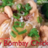 Peachy Bombay Chicken