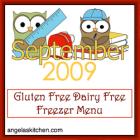 Gluten Free-zer Friday - adaptions of September 2009 OAMMom Dinners