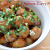 Apricot-Curry Meatballs