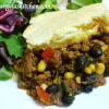 Easy Gluten Free Dairy Free Taco Bake for the Freezer