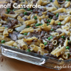 Stroganoff Casserole, Gluten Free Dairy Free with Freezer Instructions