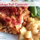 Lazy Cabbage Roll Casserole - Gluten Free-zer Friday