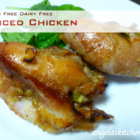 Spiced Chicken - Gluten Free-zer Friday