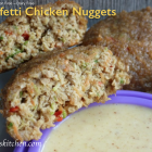 Confetti Chicken Nuggets - Gluten Free-zer Friday