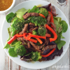 Gingered Beef & Broccoli Salad Bowl