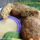 Confetti Chicken Nuggets - Gluten Free-zer Friday
