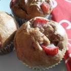 Strawberry Banana Muffins, Gluten Free-zer Friday