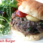 Spinach Burgers - Gluten Free-zer Friday