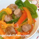 Gluten Free Dairy Free (GFCF) Sausage and Peppers