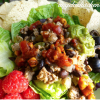 Green Chile Taco Salad Filling - Gluten Free-zer Friday