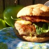 Chicken Apple Bacon Sliders, gluten & dairy free with freezer instructions