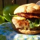 Chicken Apple Bacon Sliders, gluten & dairy free with freezer instructions