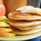 Spiced Apple Pancakes, Gluten Free Dairy Free