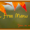 Menu Monday - October 14, 2013