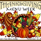 Menu Plan Monday - November 18, 2013
