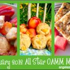 January 2012 All Star OAMM Menu