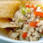 Ground Turkey Fajita Hash, Gluten Free Dairy Free (GFCF)