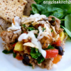 Ground Turkey & Veggie Tortilla Casserole - Gluten Free-zer Friday
