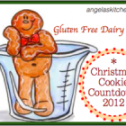 Gluten & Dairy Free Christmas Cookie Countdown - Day One